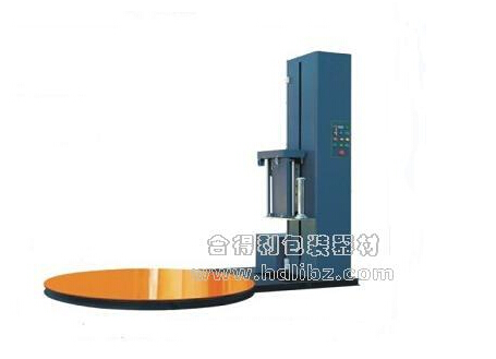 合得利包装-L-1500B预拉伸托盘缠绕包装机