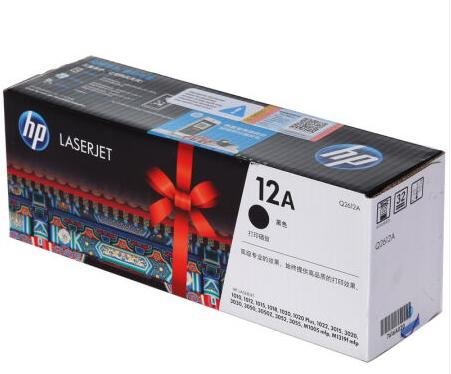 惠普惠普(HP)LaserJet Q2612A黑色硒鼓