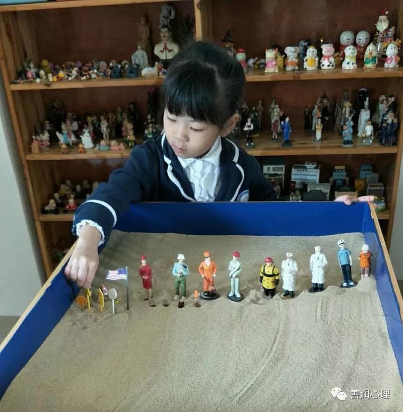 2019年善润心理公益沙龙课之沙盘游戏