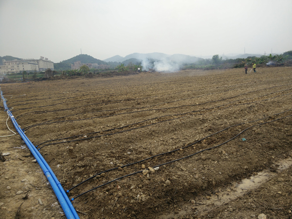 钟落潭水肥一体化滴灌系统项目